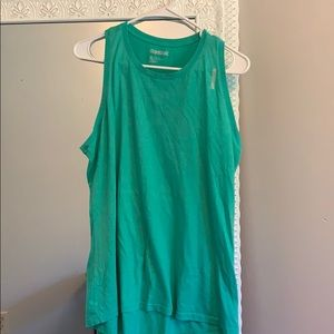 REEBOK tank top XL mint green
